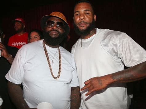 Rick Ross Claims He Ended Meek Mill and The Game's Beef