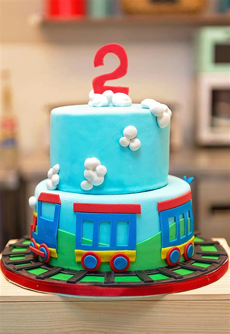 Train Birthday Party: Andrew is 2! | Chickabug