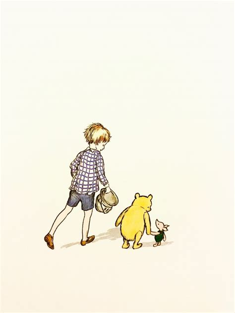 Pooh, Piglet, and Christopher Robin, from 'The Best Bear in All the World' | プー