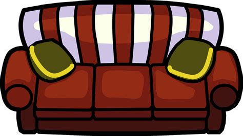 Holly Jolly Couch   Club Penguin Wiki   FANDOM powered by